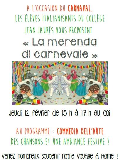invitation carnaval