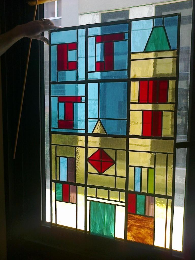 Projet vitrail réalisé 5eme3