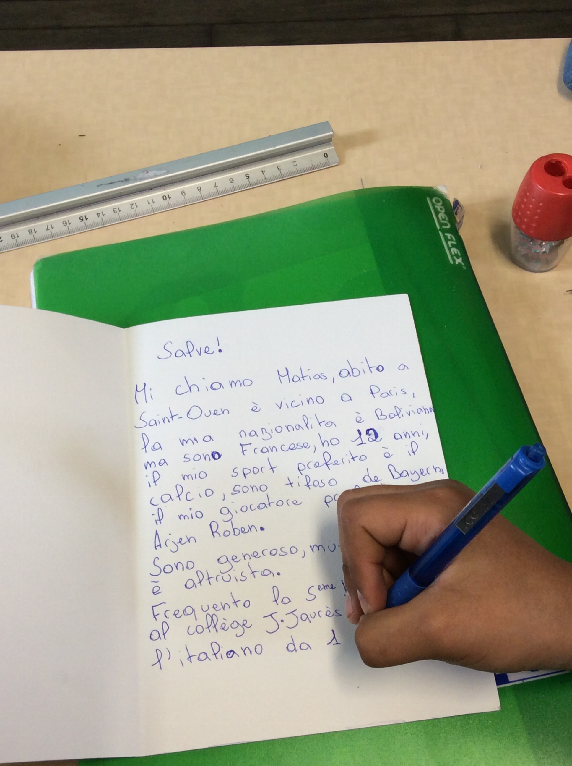 lettre correspondants italien 2
