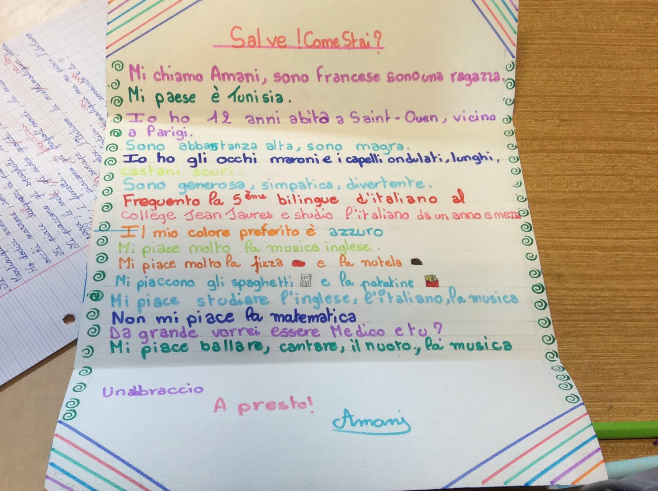 lettre correspondants italien 4