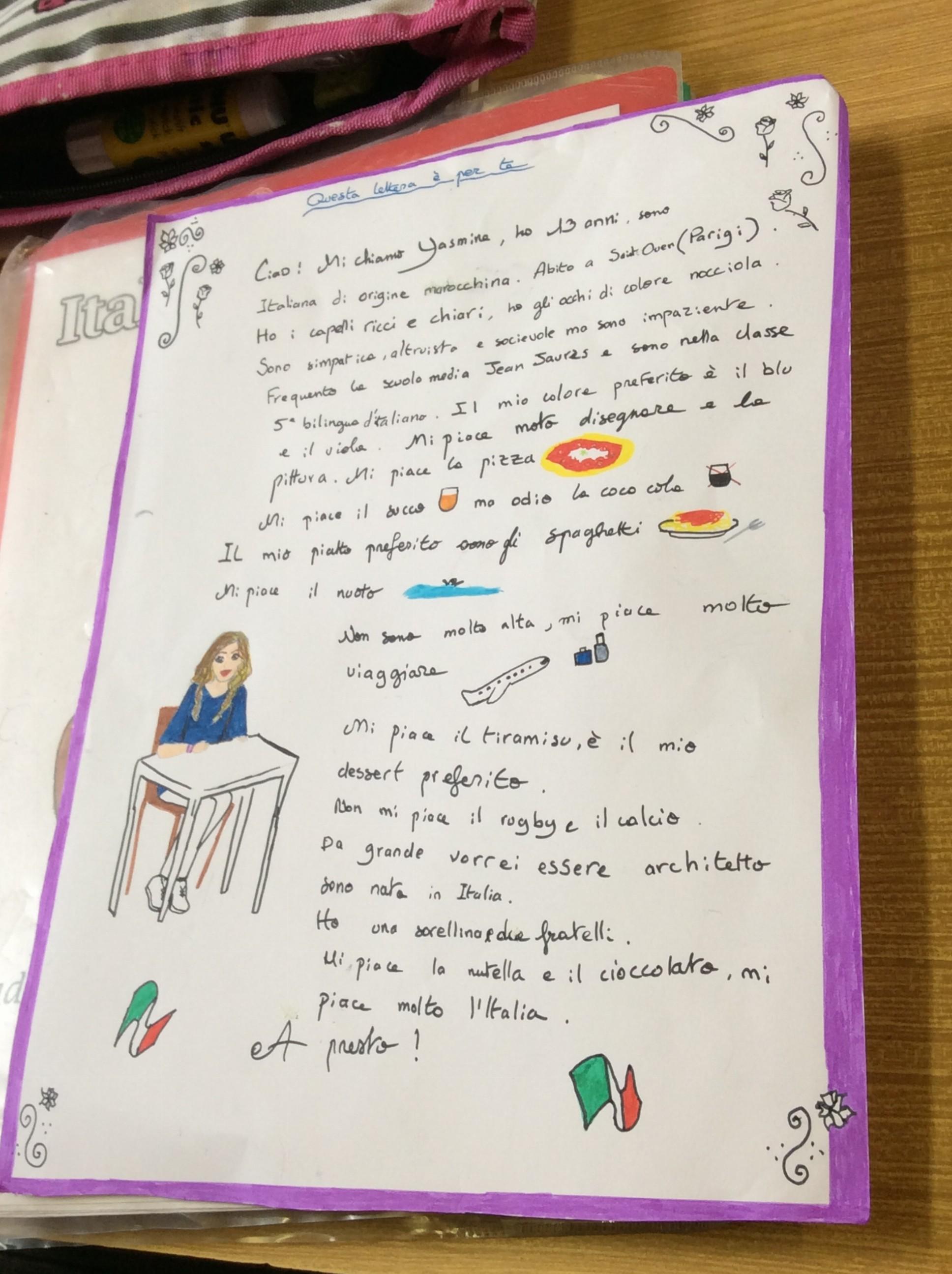 lettre correspondants italien 7