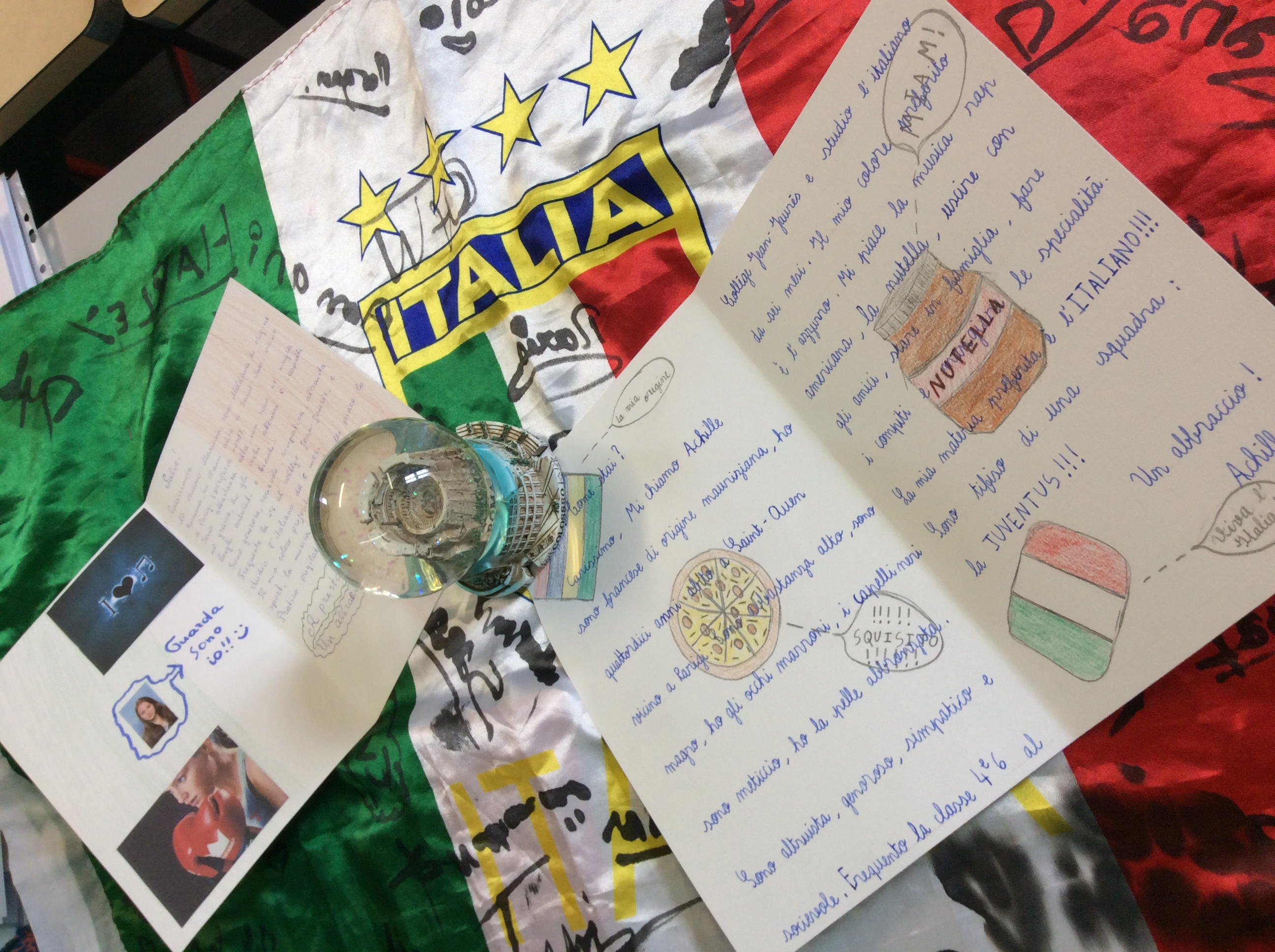 lettre correspondants italien 12